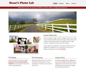Oscar's Photo Lab